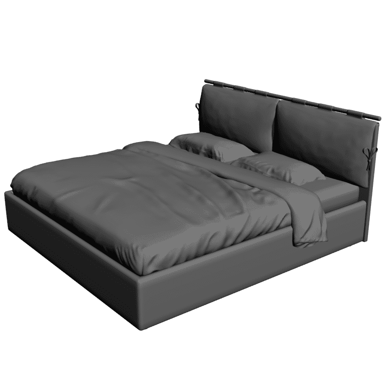 картинка Bed Daily Lux (Dream Land) 180x200 M4-165 3D-STL.COM
