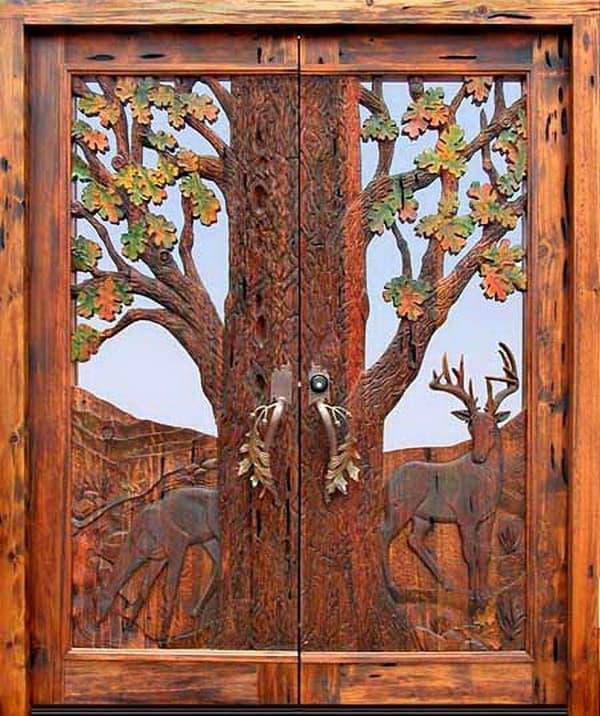 двери дерев в картинках часть автовладельцев